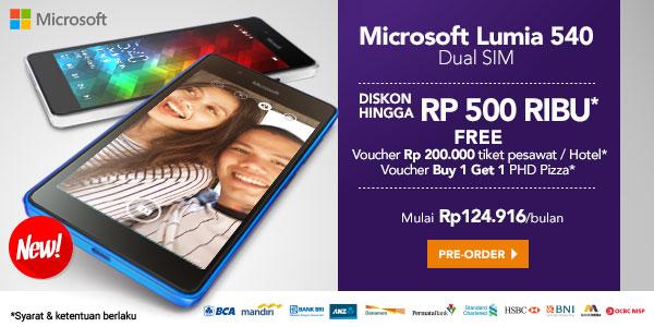 Jual Microsoft Lumia 540