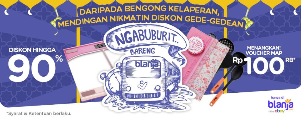 Promo Ngabuburit Bareng blanja