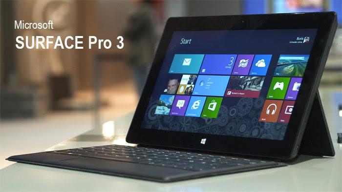 Tablet Microsoft Surface 3 untuk menggantikan laptop Anda